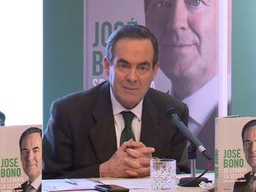 José Bono, en la presentación de su libro