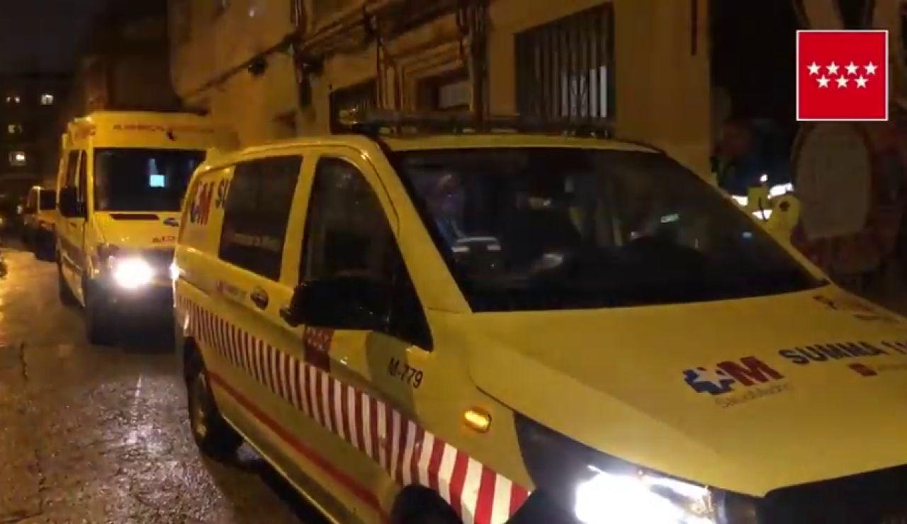 Muere una mujer tras ser apuñalada presuntamente por su hijo en Madrid