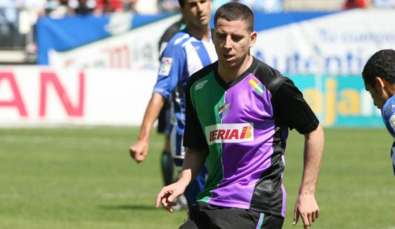 Contreras con el Málaga