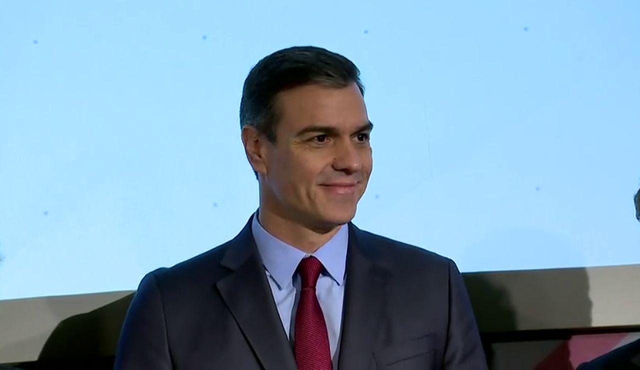 """Pedro Sánchez esquiva a la prensa tras los ERE y confía en """"abrir una nuena etapa sin crispación política"""""""