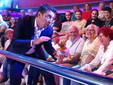 Novedad en '¡Ahora caigo!': Arturo Valls cambia su paseo por el público a la ronda 'se-se-seis'
