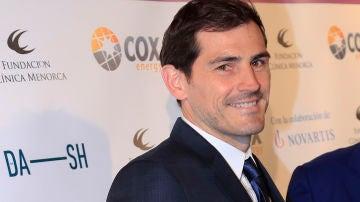 Iker Casillas durante la gala contra el cáncer