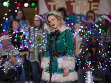Emilia Clarke en 'Last Christmas'