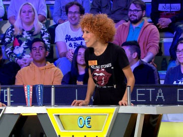 Pili, la concursante que ha inventado un nuevo refrán en 'La ruleta de la suerte' por su mala suerte