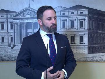 Santiago Abascal: No me extraña que Sánchez esté escondido