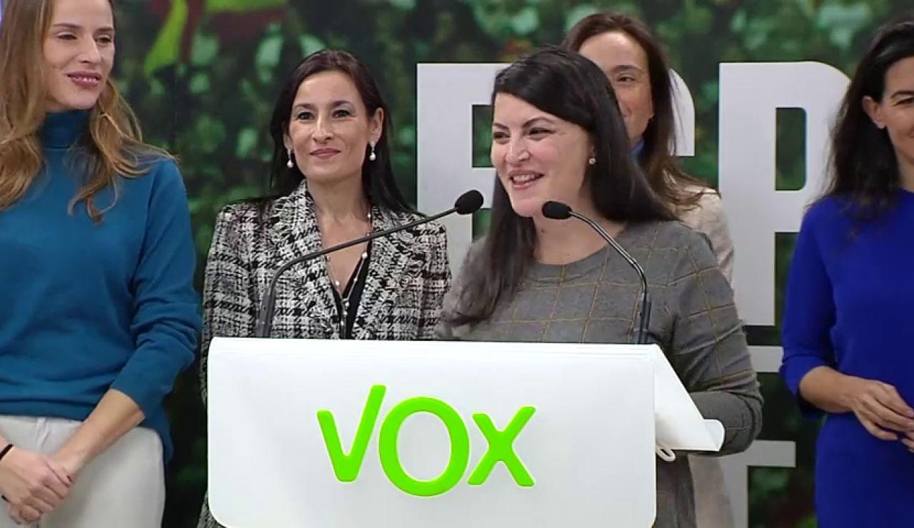 Vox carga contra la ley de Violencia de género y pide su derogación en un manifiesto