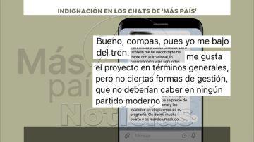 Indignación en los chats internos de 'Más País' contra Íñigo Errejón y la gestión postelectoral