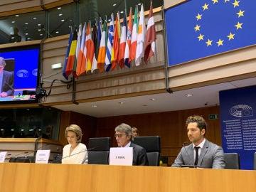 David Bisbal en el Parlamento Europeo