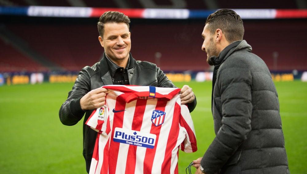 El Wanda Metropolitano y Koke, capitán del Atlético de Madrid, la maravillosa sorpresa para Dani Martín en 'El Hormiguero 3.0'