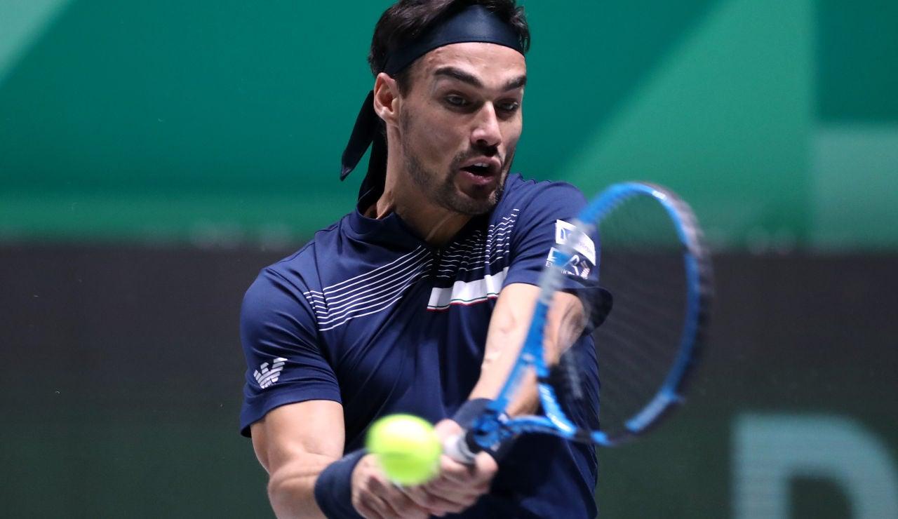 Fognini en la Copa Davis