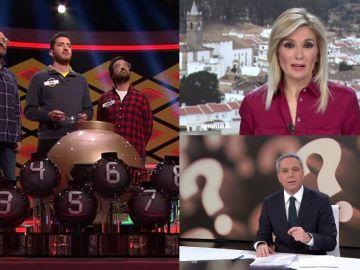 '¡Boom!' y las dos ediciones de Antena 3 Noticias