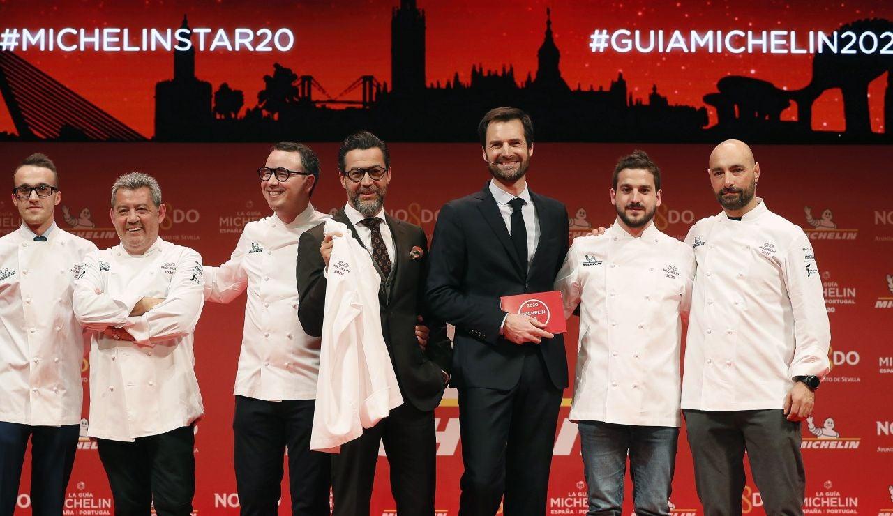Restaurantes con estrella Michelin en España