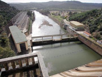 Presa de Cíjara en Badajoz