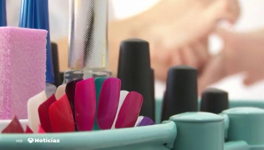 """Localizan en Madrid un local que distribuía sin licencia de productos de uñas """"cancerígenos"""" y """"explosivos"""""""