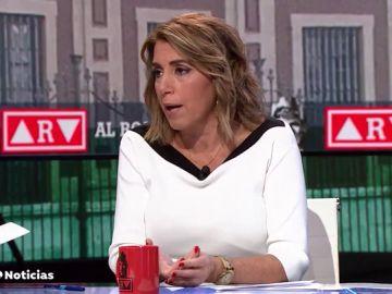 """Susana Díaz: """"Pedí perdón y lo volveré a hacer las veces que haga falta"""""""