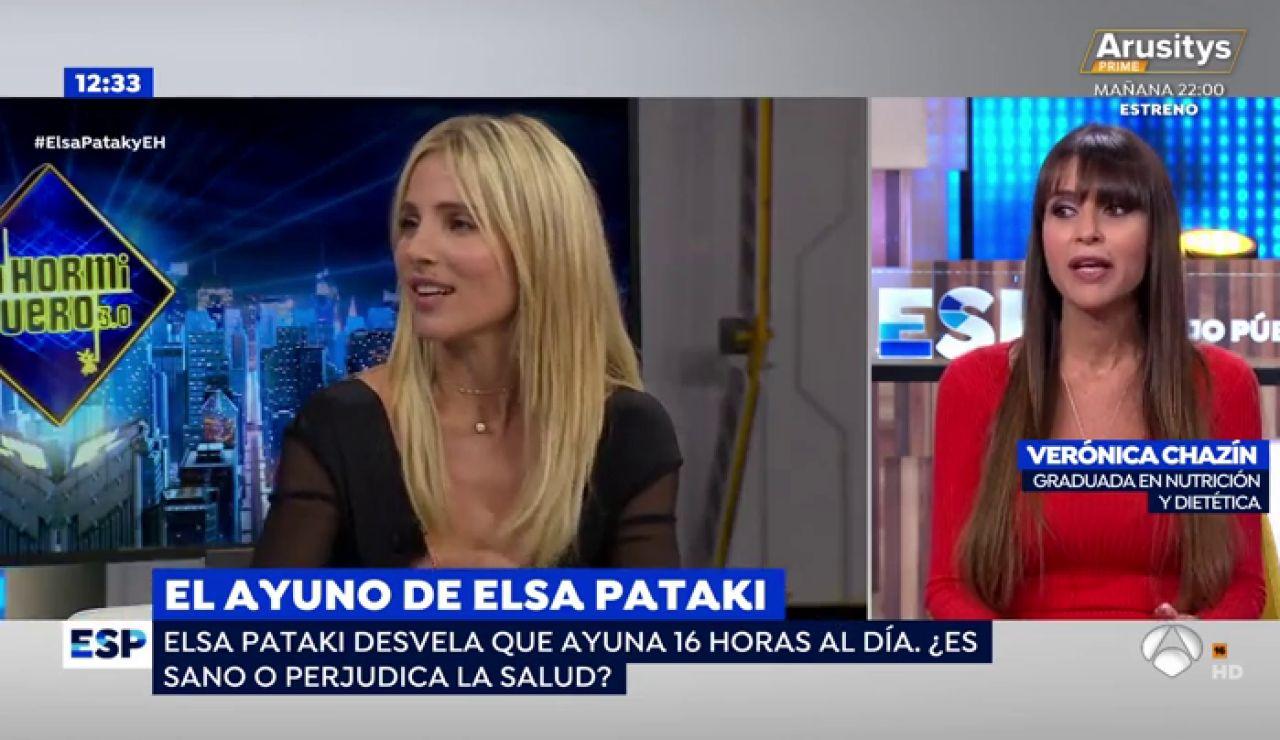 El ayuno de Elsa Pataki.