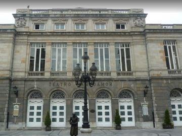 Fachada del Teatro Campoamor, de Oviedo.