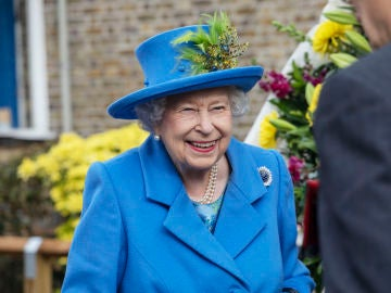 La reina Isabel II en Reino Unido