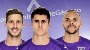 La camiseta que lucirá el Leganés ante el Barcelona