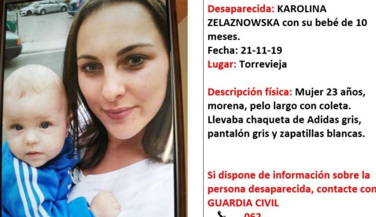 Karolina Zelaznowska, desaparecida junto a su bebé
