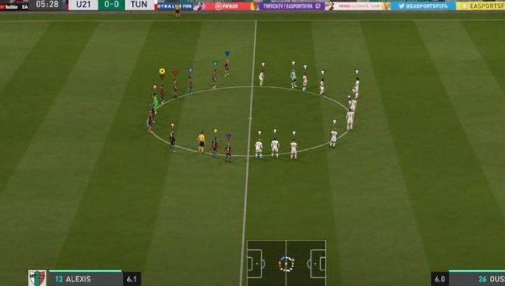 Minuto de silencio viral en el FIFA 20