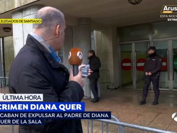 Expulsan al padre de Diana Quer del juicio por la muerte de su hija
