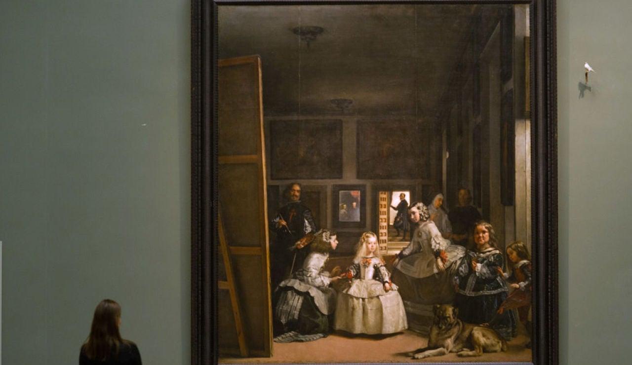 Cuadro Las Meninas en el Museo del Prado