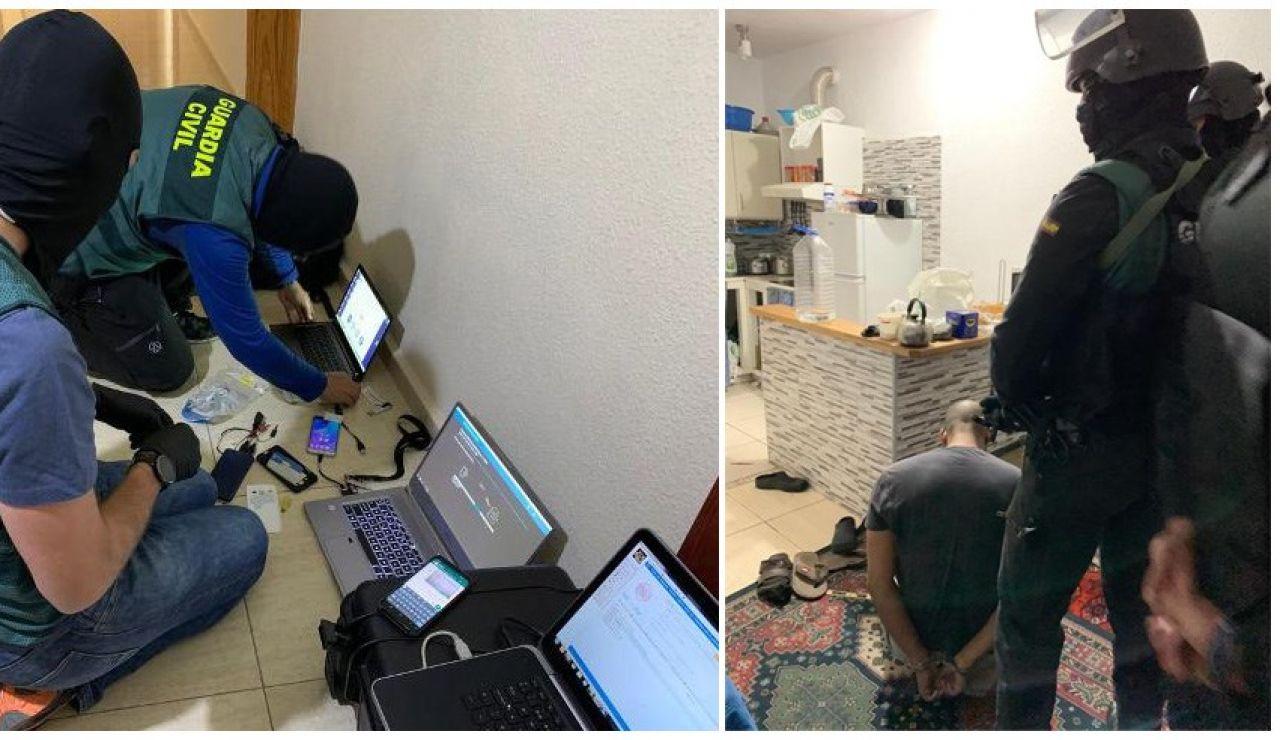 Fotografías de la operación facilitadas por la Guardia Civil