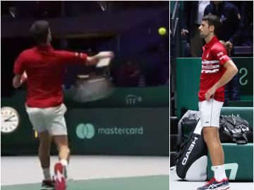 El feo gesto de Djokovic en la Caja Mágica