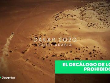 Prohibido besarse en público, llevar pantalón corto... el polémico decálago de vetos en el Dakar de Arabia Saudí