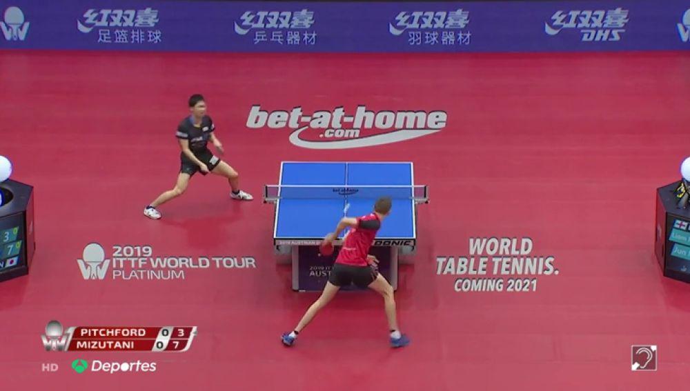 El mejor punto nunca visto en la historia del ping-pong