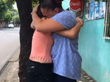 Reencuentro entre una madre y una hija