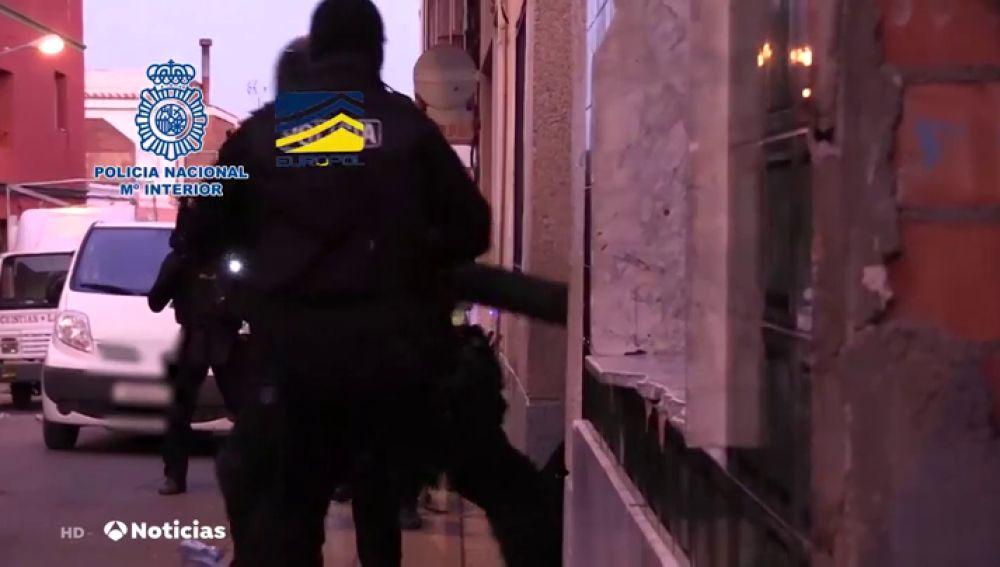 Desarticulan en Valencia una organización criminal dedicada a la trata de seres humanos y explotación de mujeres