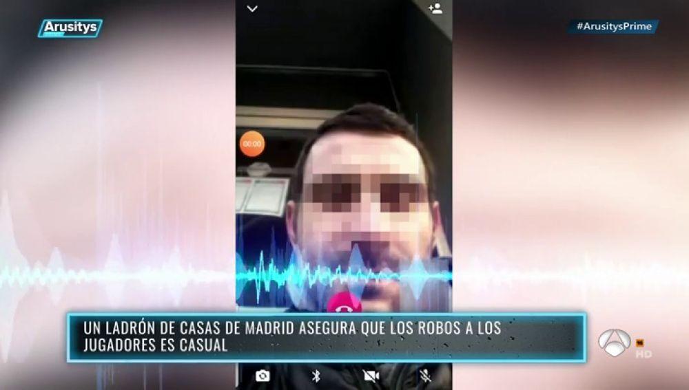 EXCLUSIVA: 'Arusitys Prime' entrevista al asaltante de las casas de los jugadores del Real Madrid