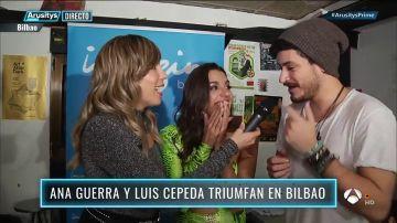 Patricia Imaz descubre en 'Arusitys Prime' el llamativo motivo por el que Ana Guerra y Luis Cepeda han parado un concierto de su gira