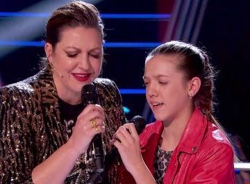 Lágrimas en el plató con el duende flamenco de Niña Pastori y Patricia García en los Asaltos de 'La Voz Kids'