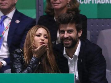 Shakira y Piqué en la Caja Mágica