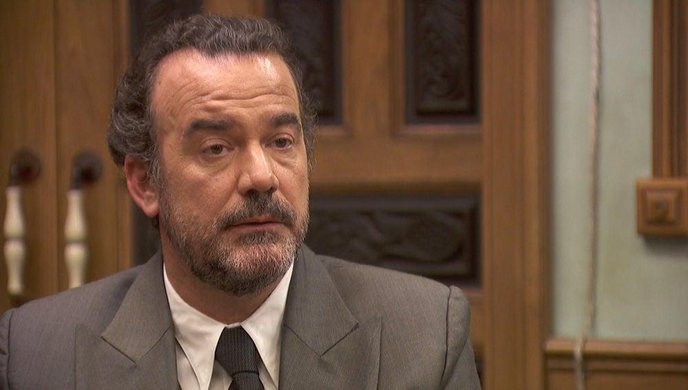 Ignacio Solozábal, en shock con una decisión de Rosa