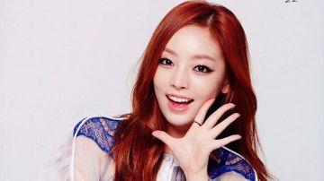 La cantante y actriz surcoreana Goo Hara