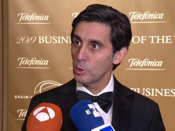 Álvarez-Pallete, premiado como líder empresarial del año por la Cámara de Comercio España-EEUU