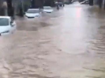 El fuerte temporal continúa entre Valencia
