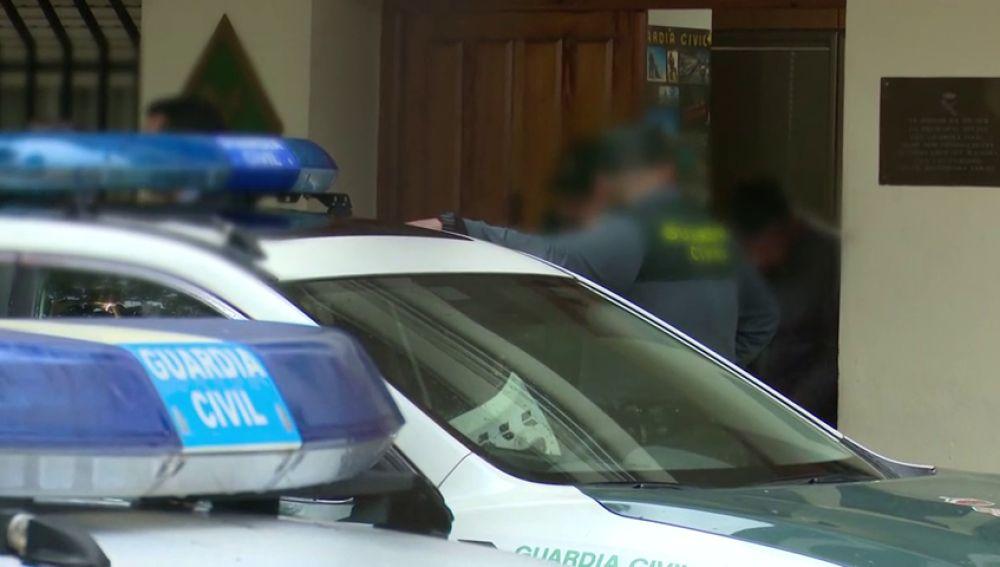 REEMPLAZO: Primeras imágenes del sospechoso de la desaparición de Marta Calvo tras entregarse a la Guardia Civil