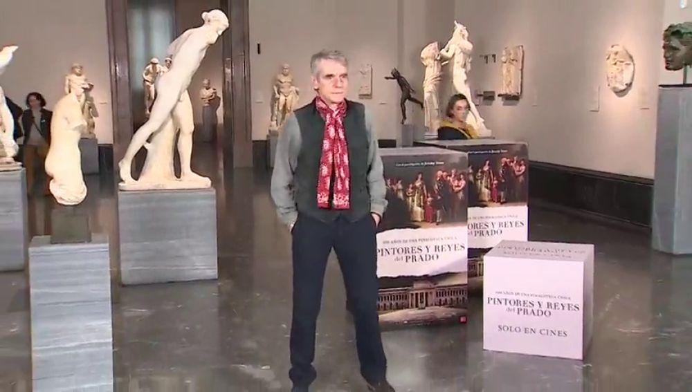 Jeremy Irons elige su cuadro favorito del Museo del Prado