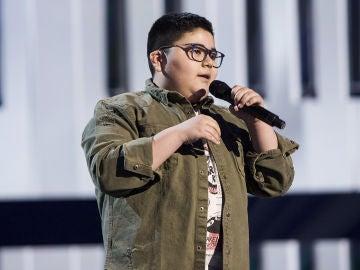 Alan Brizuela canta 'Corre' en la Semifinal de 'La Voz Kids'