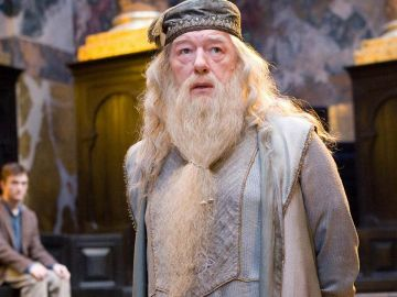 Dumbledore en 'Harry Potter'