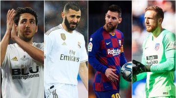 Valencia, Madrid, Barça y Atlético, rivales en la Supercopa de España