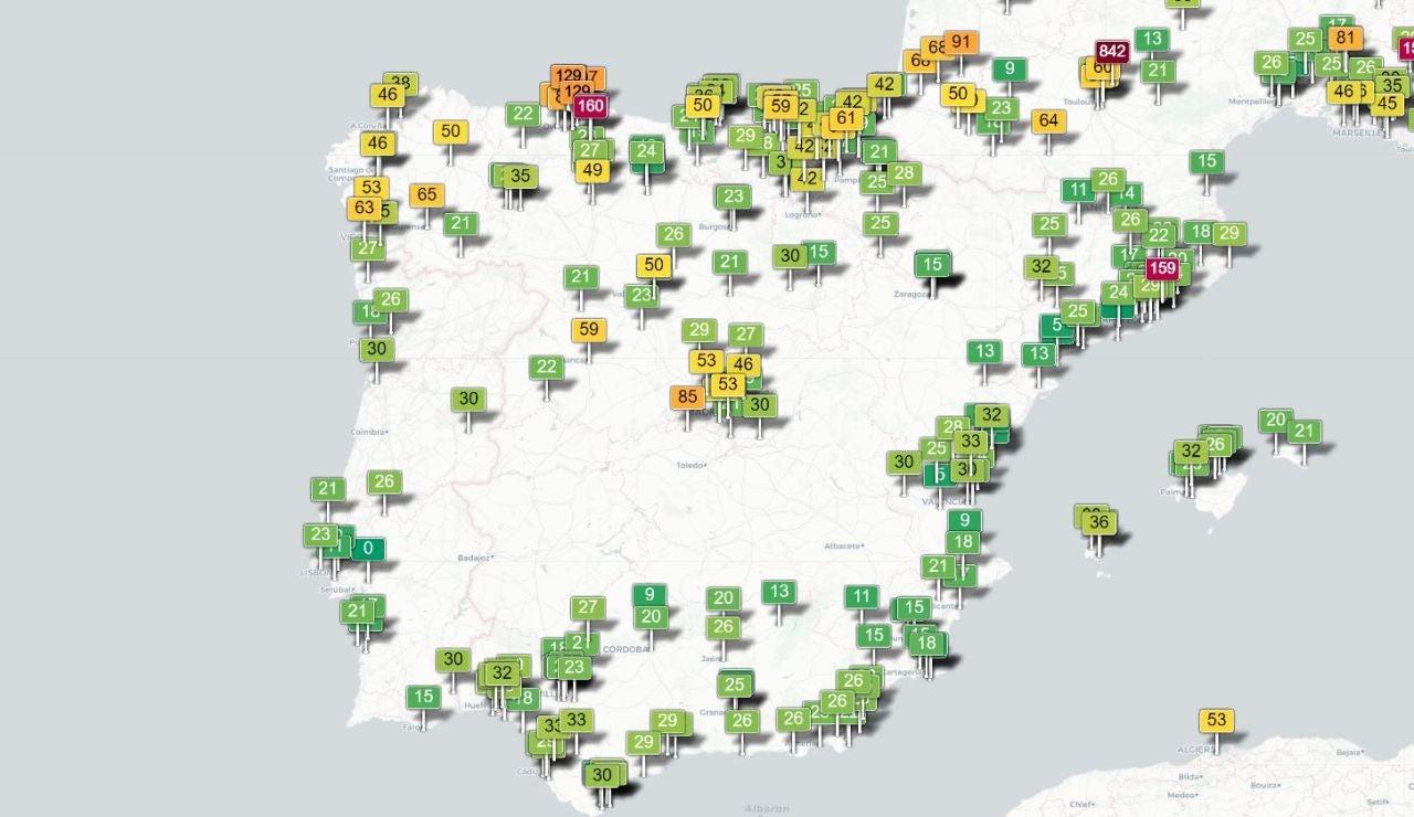 Calidad del aire en España