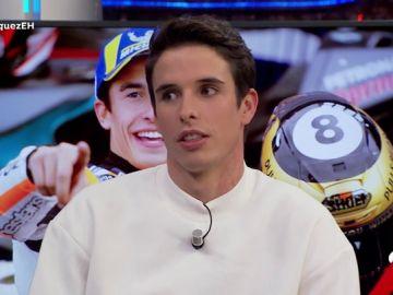 """Alex Márquez en 'El Hormiguero': """"No dejaría pasar a mi hermano en una carrera, que gane el mejor"""""""