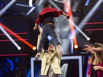 Daniel García se convierte en el primer finalista de 'La Voz Kids'