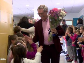 Emotiva despedida a dos profesores en Algeciras